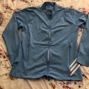 Adidas women's blue jacket